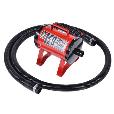 Red Mini K-9 Dryer for Dog Grooming