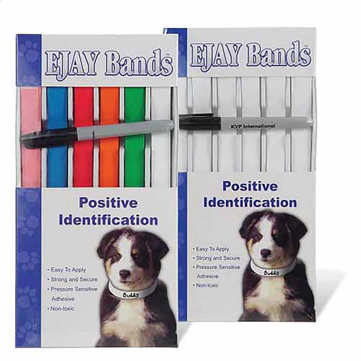 100 Pack of 30 inch by 1 inch Positive Identification Bands - Various Colors