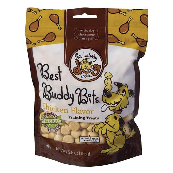 Exclusively Dog Chicken Flavor Best Buddy Bits Training Treats - 5.5 oz