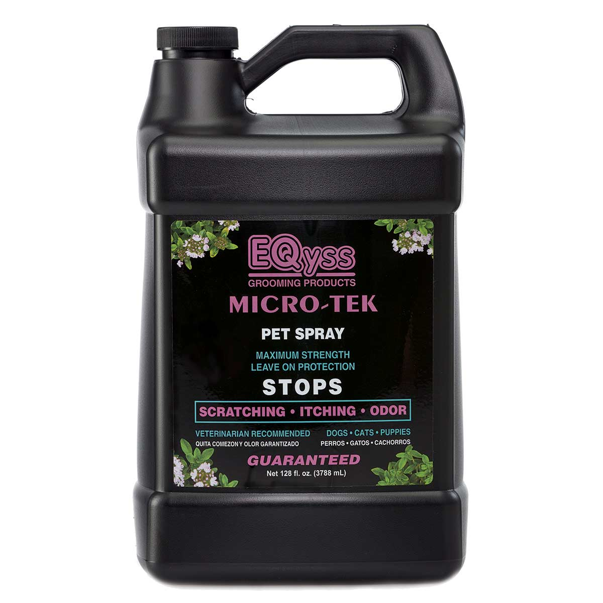 EQyss Grooming Products Micro Tek Medicated Spray - Gallon