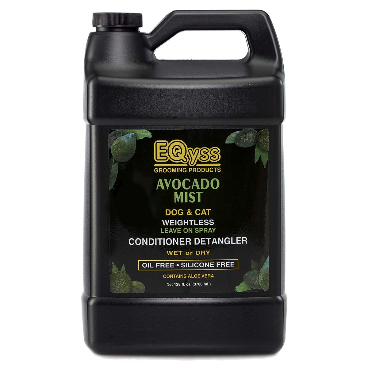 Gallon EQyss Avocado Mist Detangler Leave on Spray for Dogs and Cats