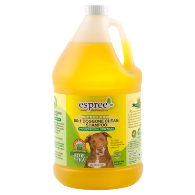 Espree Professional Care Doggone Clean Tearless Pet Shampoo Concentrated 50:1 Gallon
