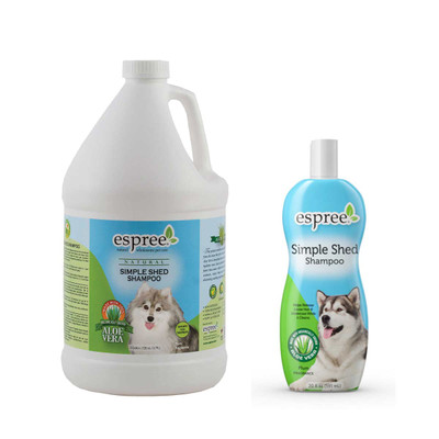 Espree Simple Shed Pet Shampoo RTU