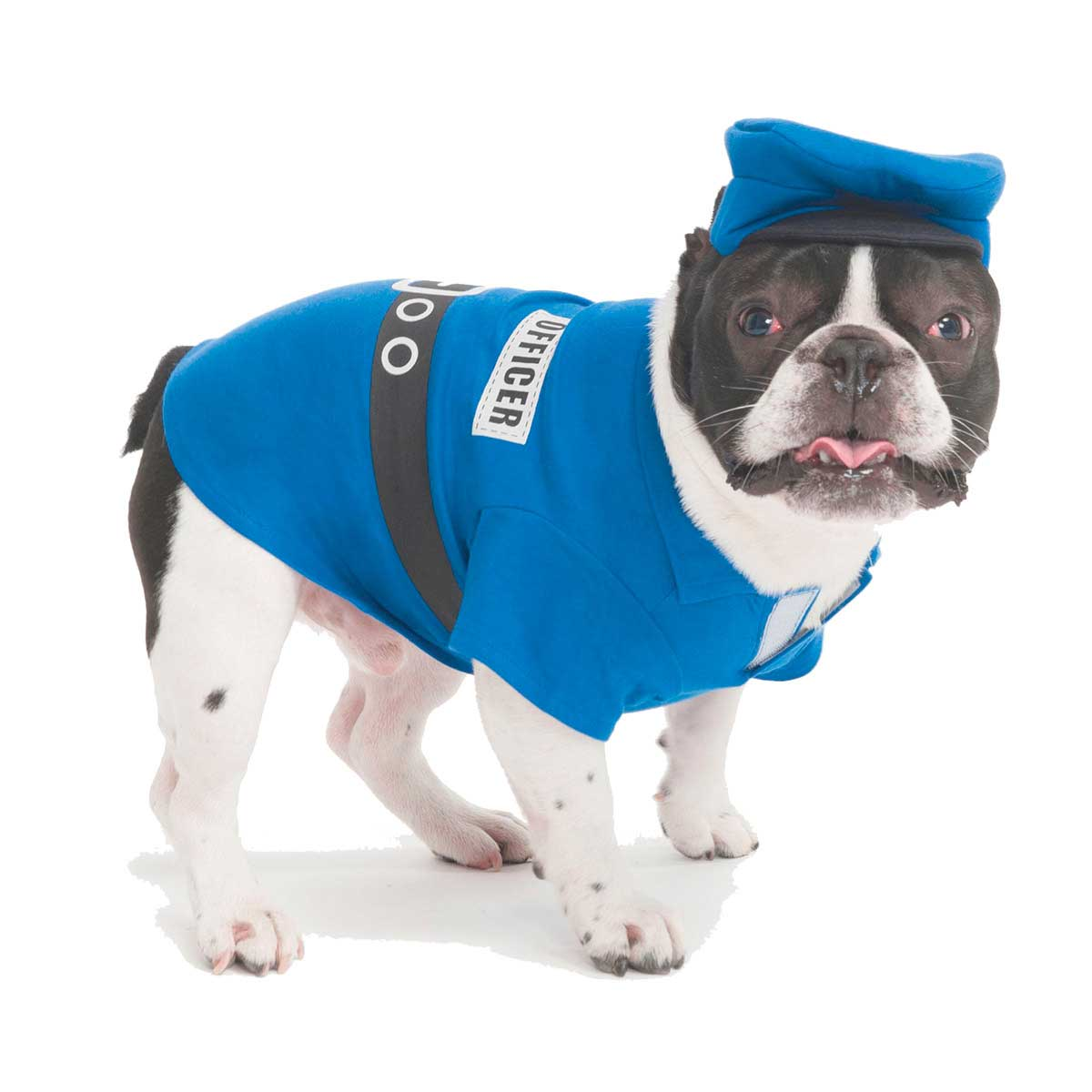 Police Officer Costume Size X Small Dogs