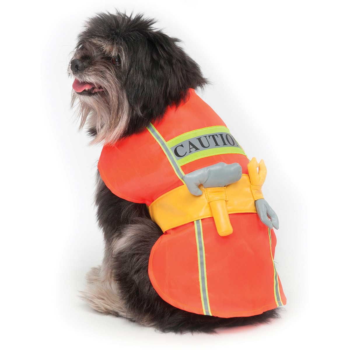 X Small Construction Worker Dog Costume