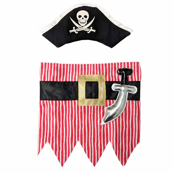 Medium-Large Pirate Costume for Dogs