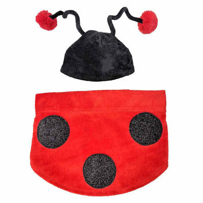 XS-Small Ladybug Costume for Dogs