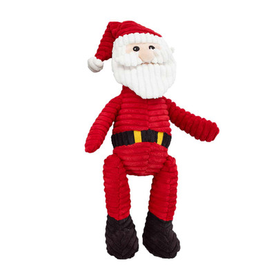 Ethical Holiday Corduroy Santa 23 inch Dog Toy