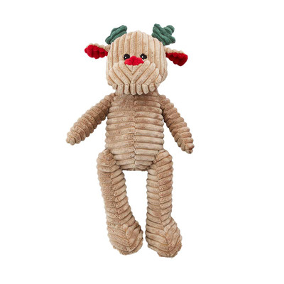 HOLIDAY CORDUROY REINDEER 18 inch Dog Toy