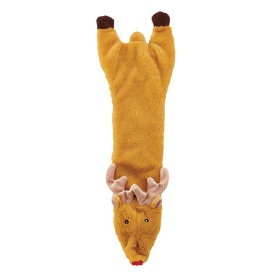 Holiday Skinneeez Crinkler Reindeer Dog Toys at Ryan's Pet Supplies