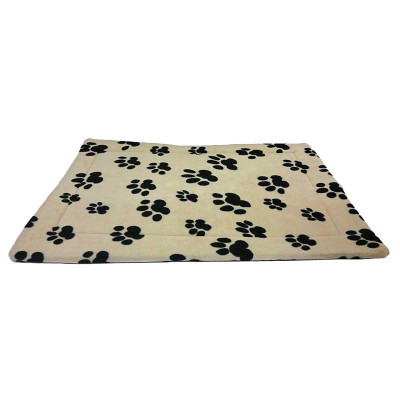 Thermo Pet Mat with Paw Print Design - 18 inches by 14 inches