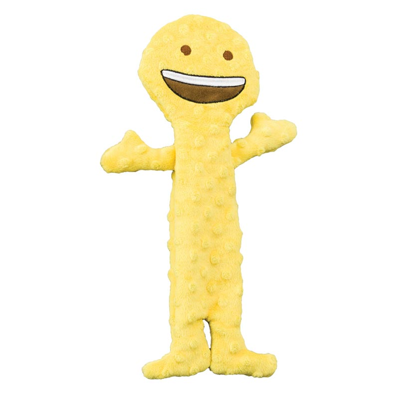 Skinneeez Extreme Emoji Happy Face Dog Toy