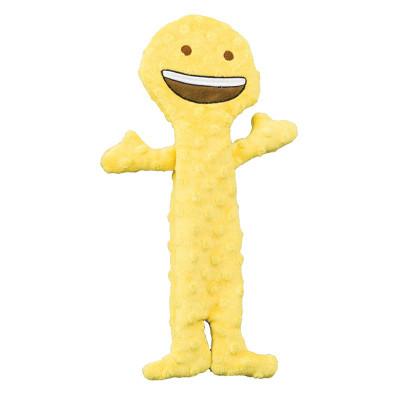 Skinneeez Extreme Emoji Happy Face Dog Toy