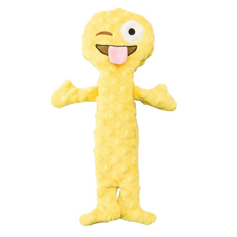 Skinneeez Extreme Emoji Crazy Face Dog Toys