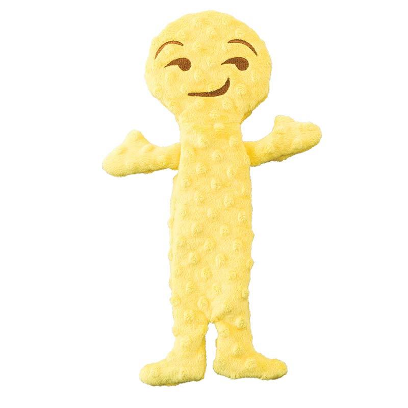 Skinneeez Extreme Emoji Smirk Toys for Dogs
