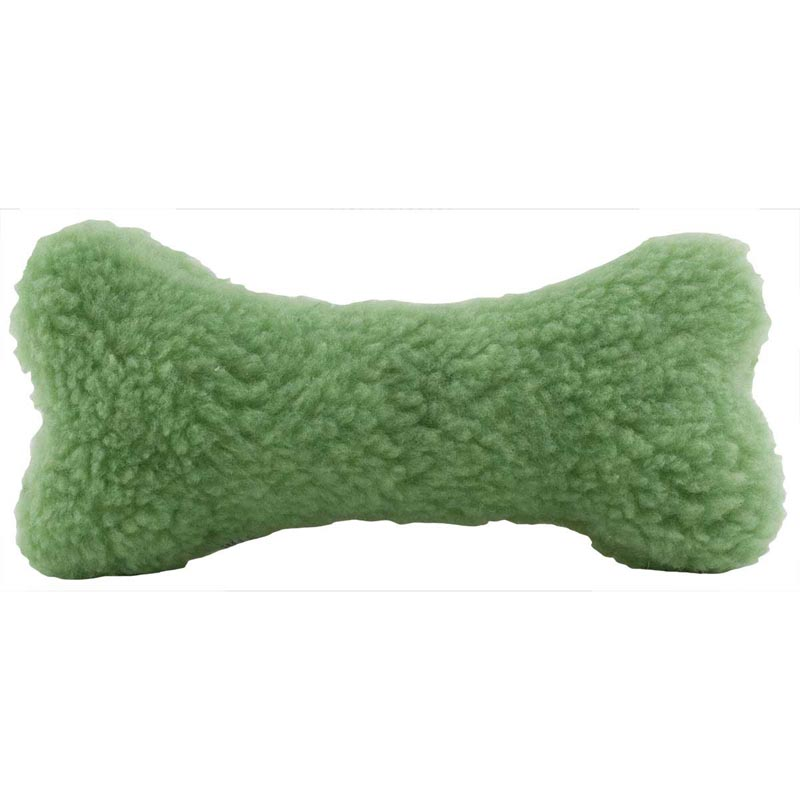 Vermont Fleece Bone Toy - Assorted Colors 9 inches long