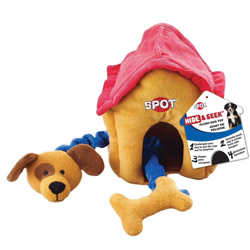Ethical Pet Spot Hide & Seek House for Dogs - 9 inches
