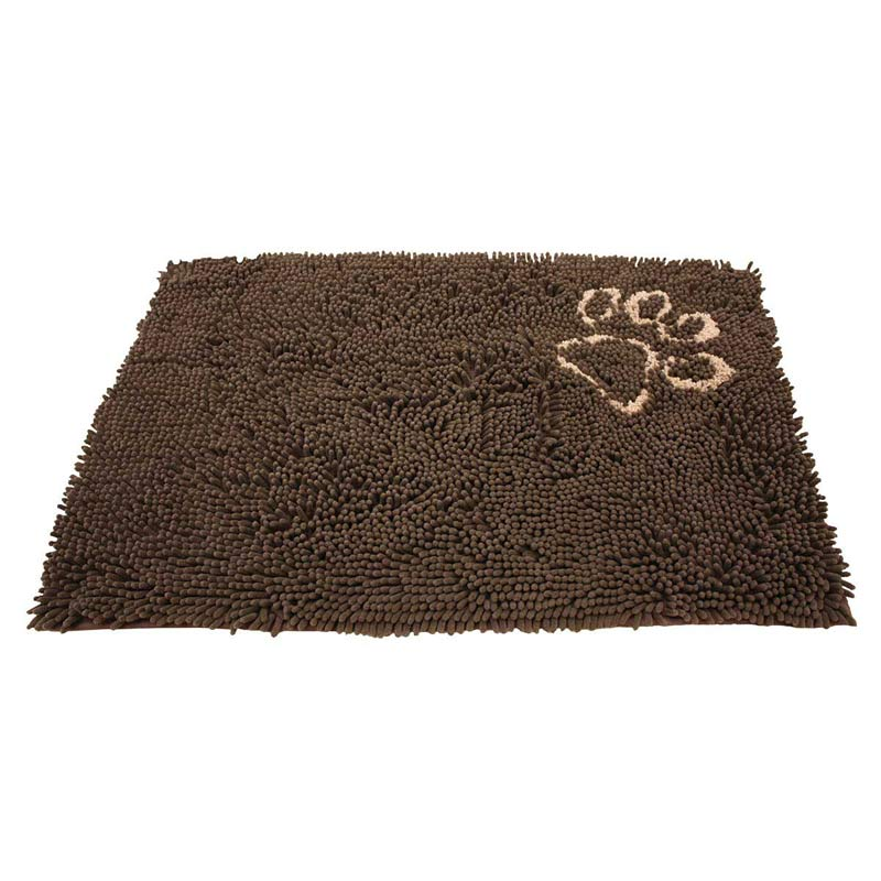 Clean Paws Microfiber Mat Brown - 35 inches by 24 inches