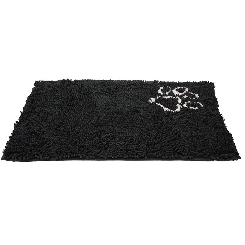 Ethical Pet Clean Paws Microfiber Mat Grey - 35 inches by 24 inches