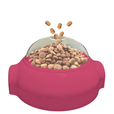 Push-n-Pop Treat Dispenser for Cats