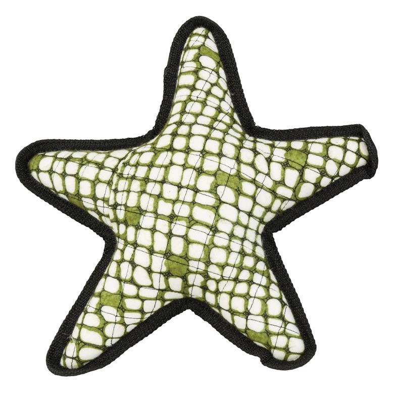 11.5 inch Beyond Tough Starfish Dog Toy from Ethical Pet
