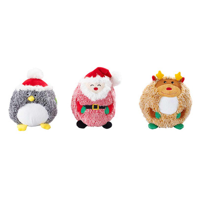 Ethical Holiday Butterballs Assorted 6 inch Dog Toy