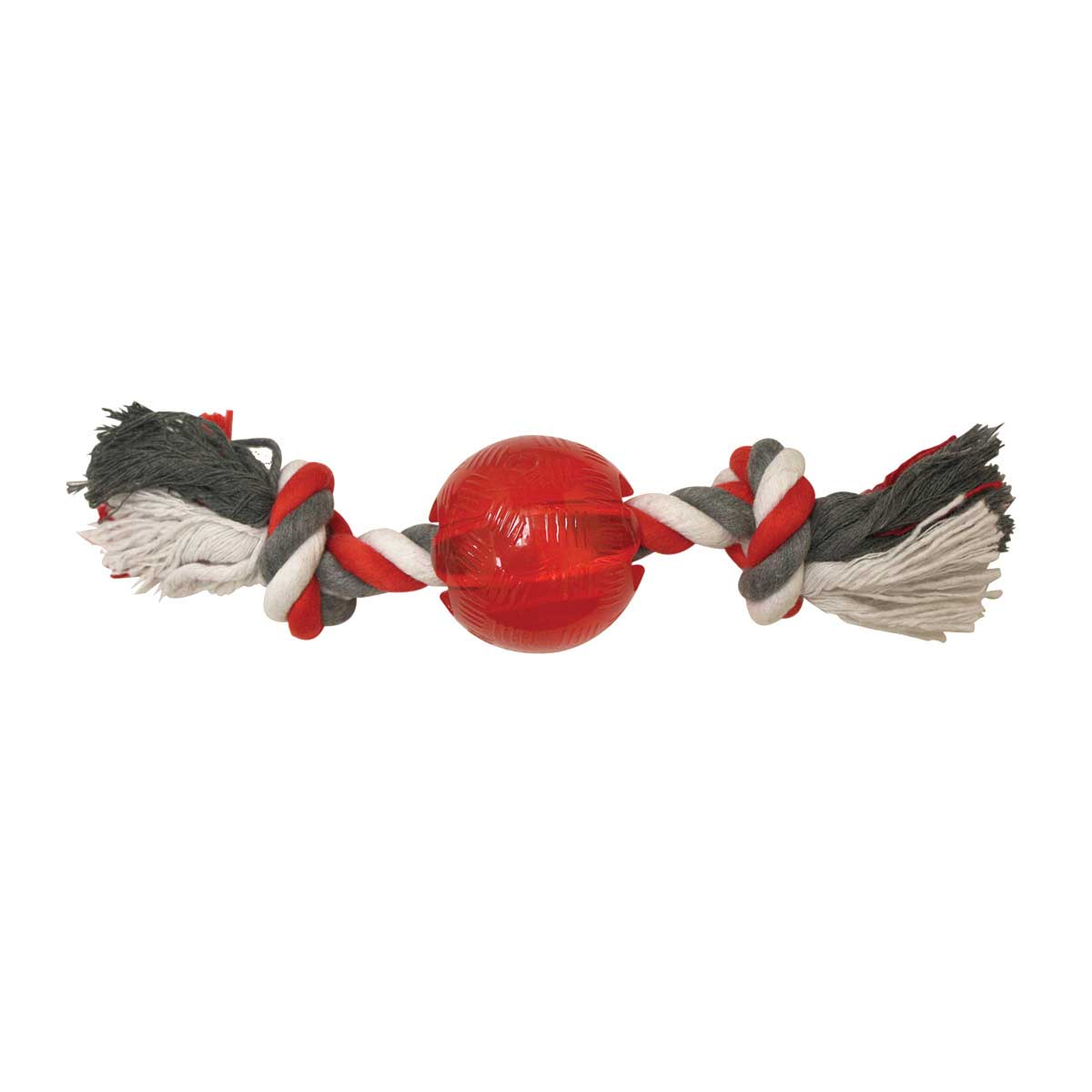 Mini 2.25 inch Play Strong Ball With Rope For Small Dogs