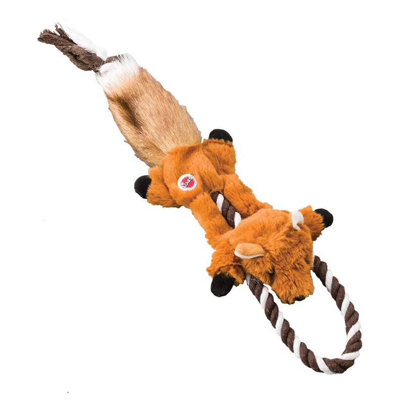 Mini Skinneeez Tugs Fox for Dogs - 14 inches