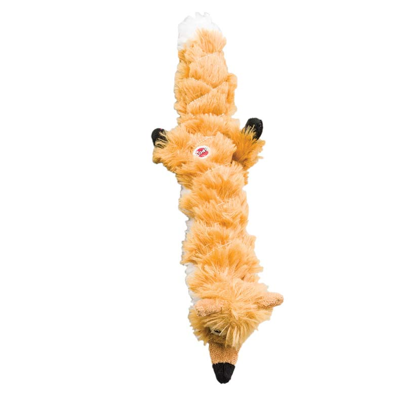 Skinneeez Extreme Quilted Fox 23 inch Toy for Large Dogs
