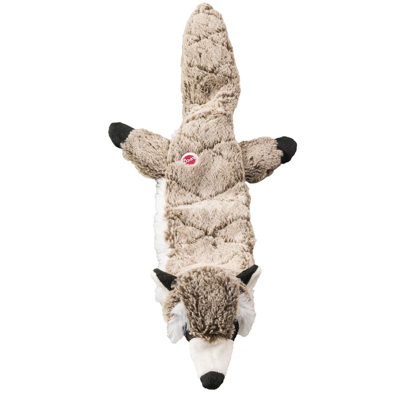 23 inch Skinneeez Extreme Quilted Raccoon Dog Toy for Larger Dogs