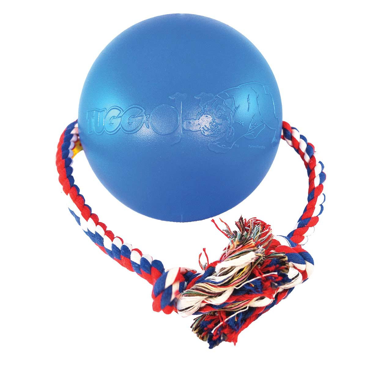 Medium Tuggo Blue Dog Tug Rope Toy at Ryan's Pet Supplies