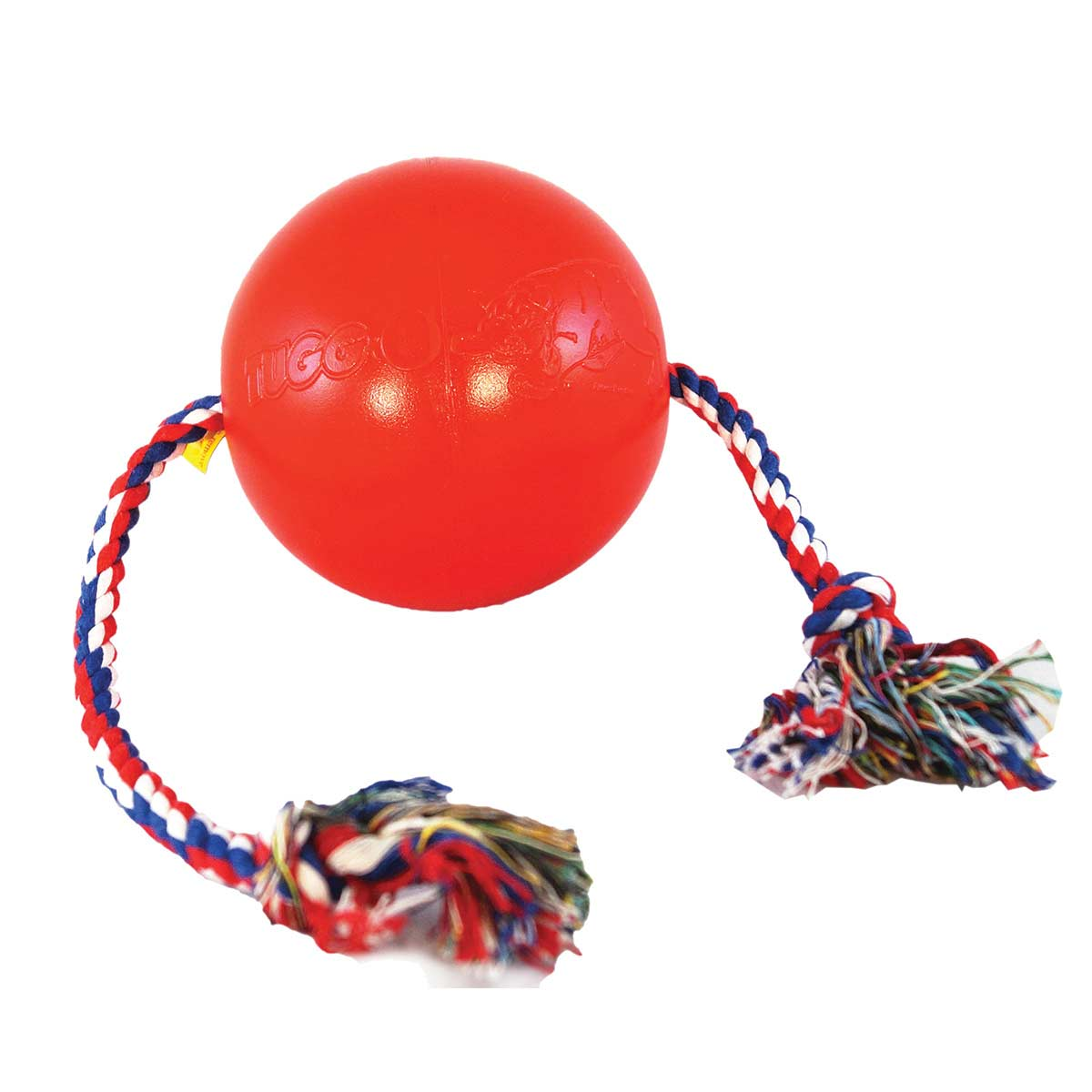 Small Red Tuggo Water Dog Toy available at Ryan's Pet Supplies