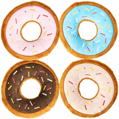 7.5 inch Spot Tasty Donuts Assorted Dog Toy