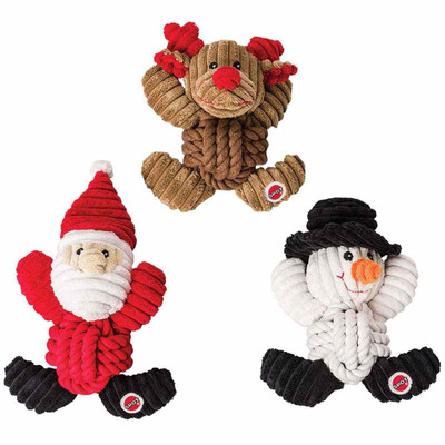 Holiday Knot-for-Nothing Rope Tug Dog Toys at Ryan's Pet Supplies