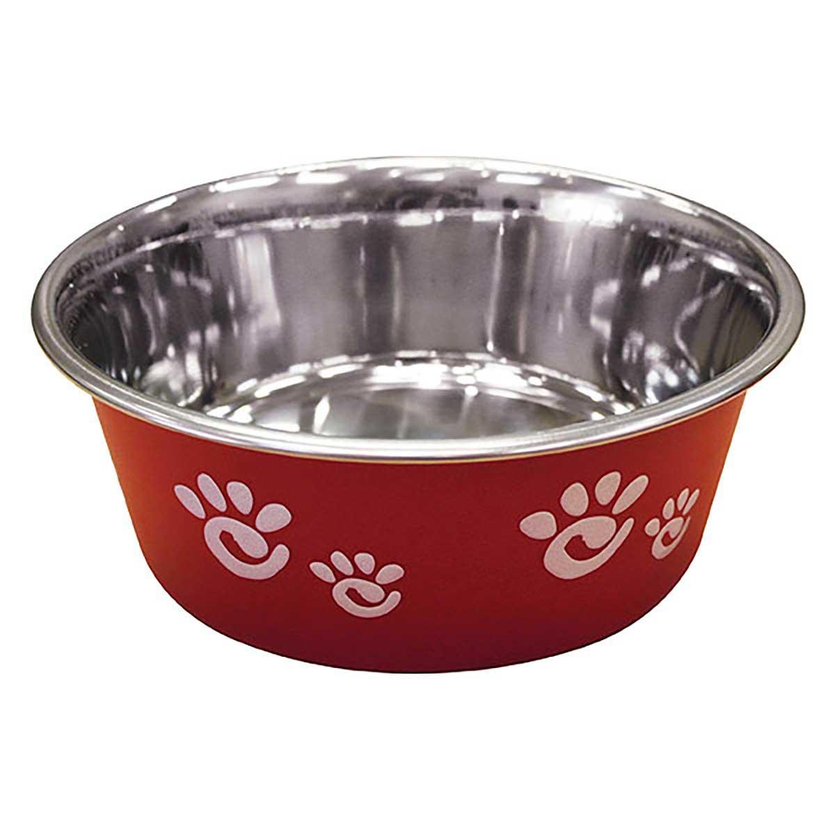 Barcelona Dog Bowl Matte Raspberry - Holds 32 oz
