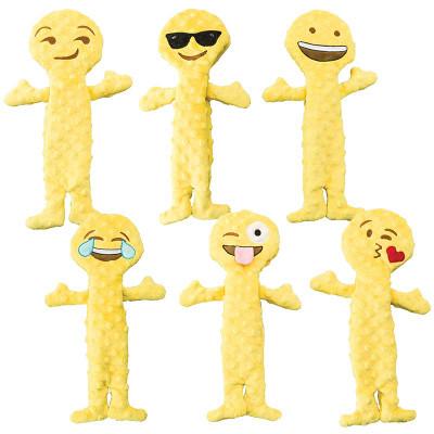 144 Count Emoji Dog Toys Variety Pack