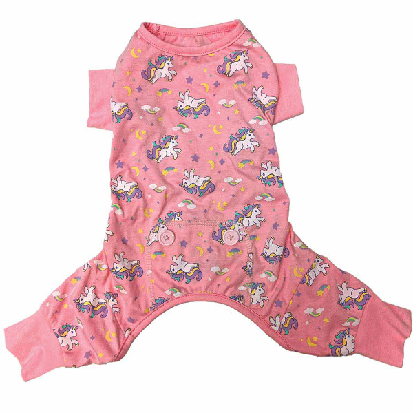Fashion Pet Unicorn Pajamas for puppies and dogs