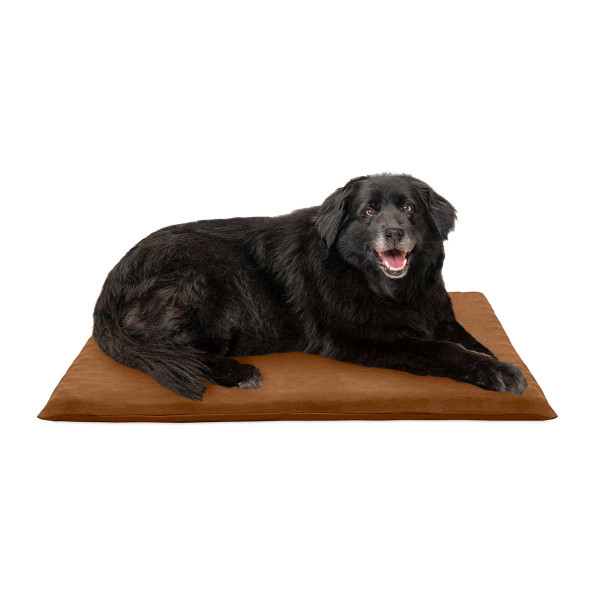 Dog on Camel Large FurHaven Suede Orthopedic Mat