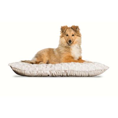 Latte Medium FurHaven Ultra Plush Tufted Pillow Dog Bed