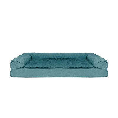 Blue XL FurHaven Orthopedic Sofa Dog Bed