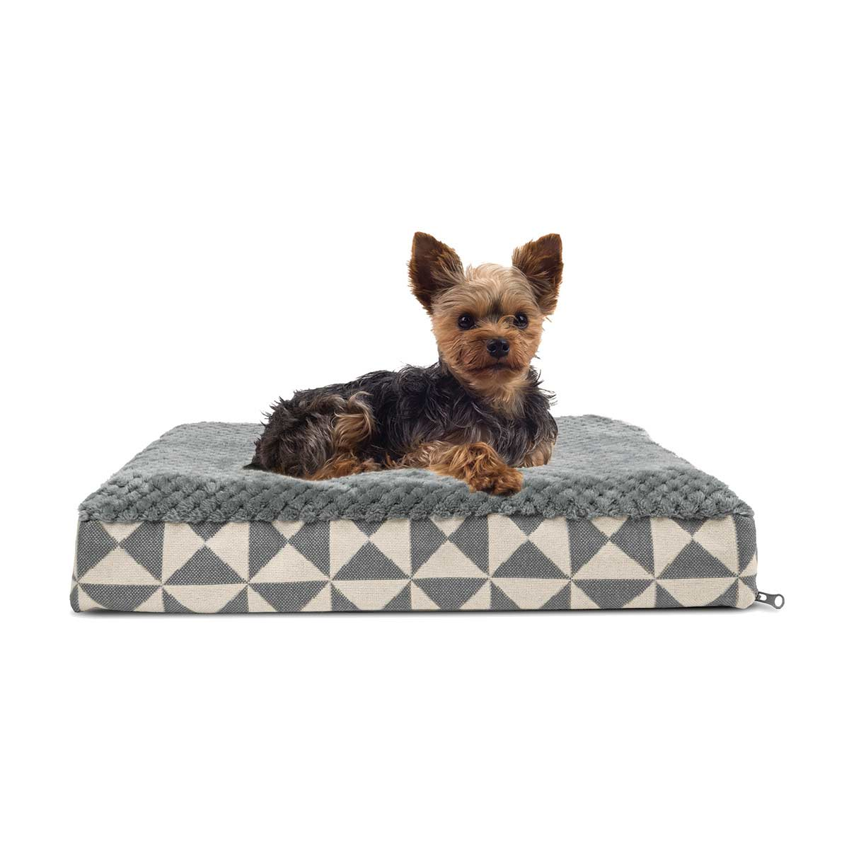 FurHaven NAP Plush Top Deluxe with Memory Foam Ortho Pet Bed Small at Ryan's Pet Supplies
