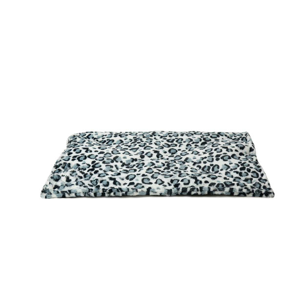 Snow Leopard ThermaNAP Faux Fur Self-Warming Mat for Cats