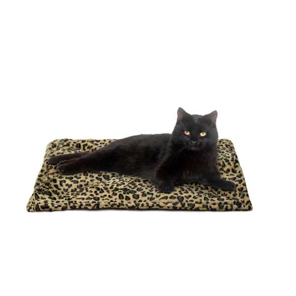 Leopard ThermaNAP Faux Fur Self-Warming Mat