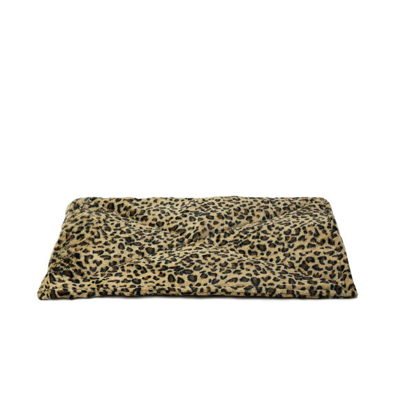 Leopard ThermaNAP Faux Fur Self-Warming Cat Mat