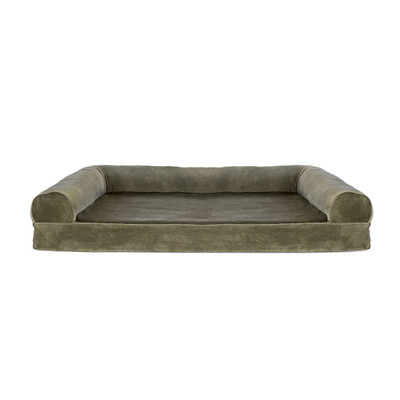 XL Sage FurHaven Orthopedic Sofa Dog Bed