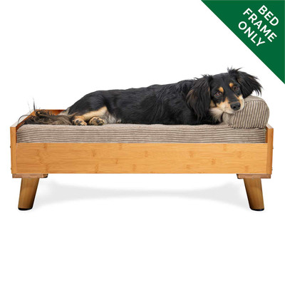 Bamboo Medium FurHaven Dog Bed Frame