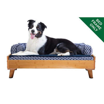 Bamboo Large FurHaven Dog Bed Frame