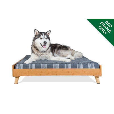 XL Bamboo FurHaven Dog Bed Frame