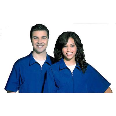 Fromm Unisex Large Blue Barber/Groomer Jacket