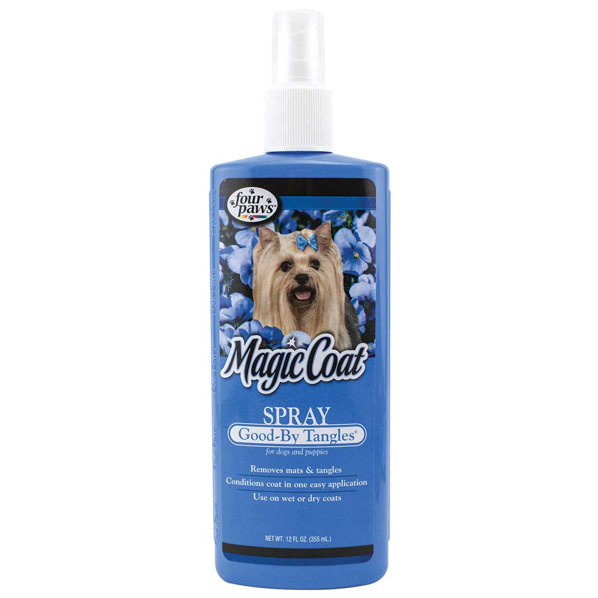 Four Paws Magic Coat Good-By Tangles Spray for Dogs and Puppies -12 ounce